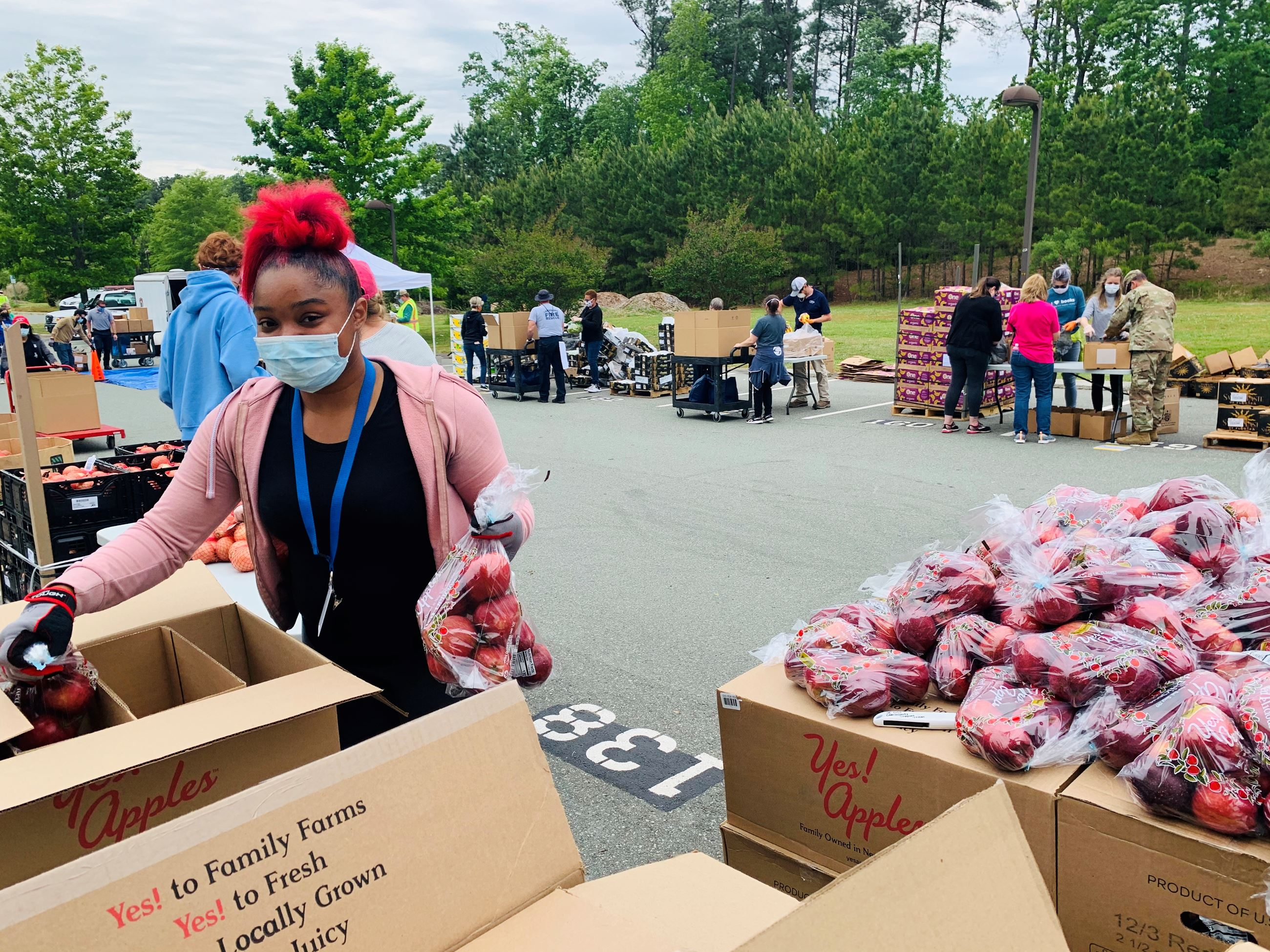 Food Distribution During Pandemic