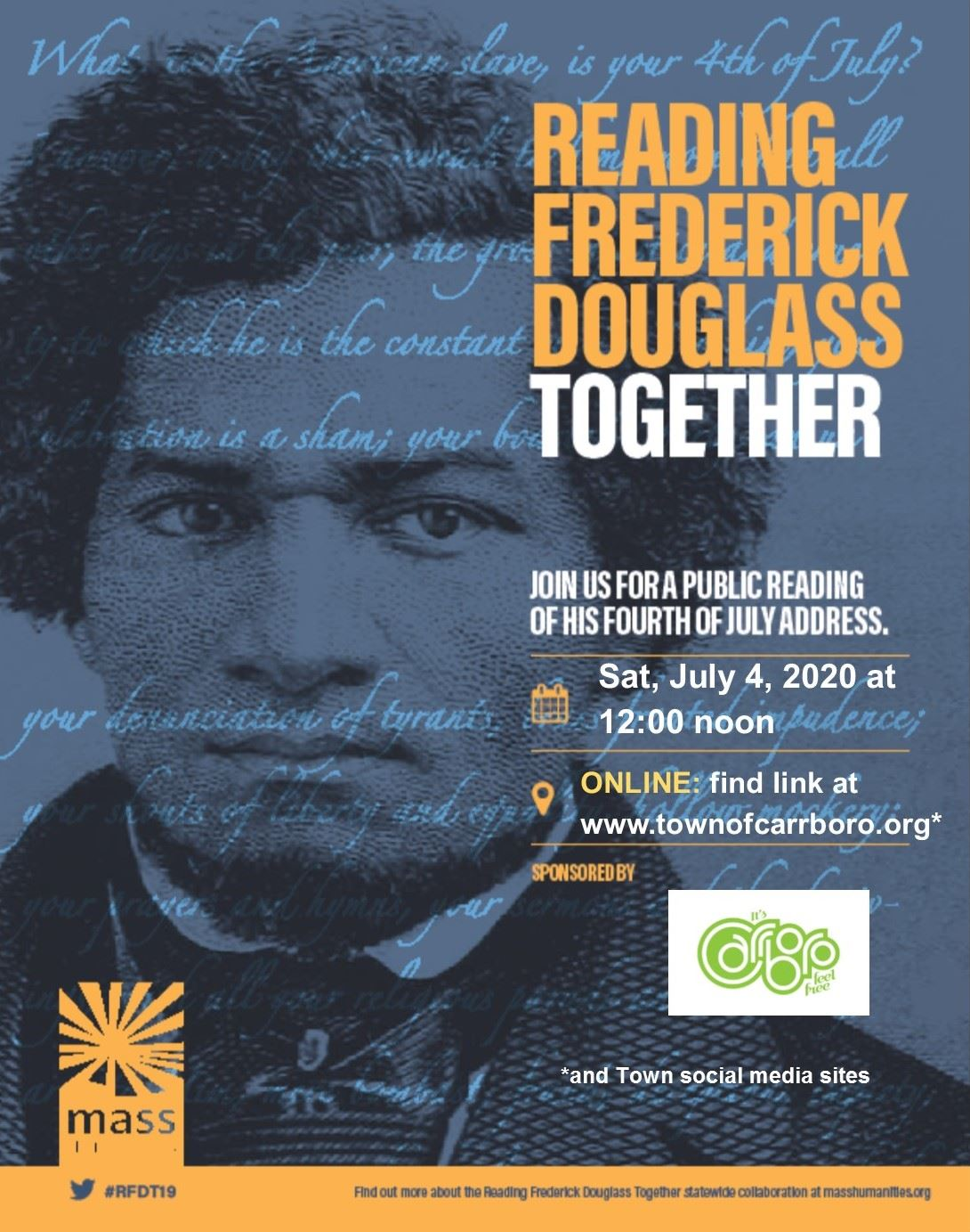 Frederick Douglass July 4th Flyer